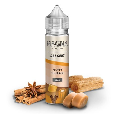 E-Liquido MAGNA E-LIQUID Fluffy Churros 60ML
