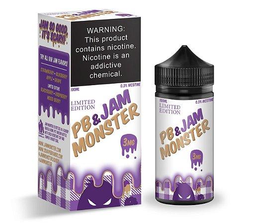 E-Liquido JAM MONSTER PB & Jam Monster Grape 100ML