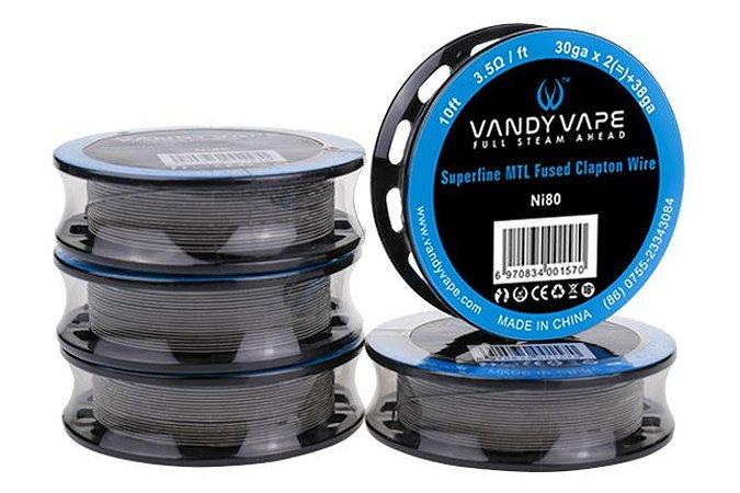 Fio para Resistência Vandy Vape Superfine MTL