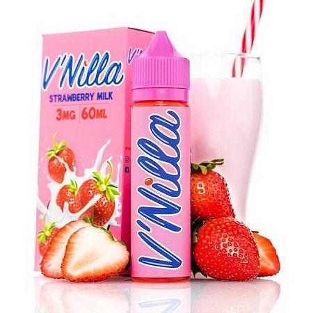 E-Liquido V'NILLA Strawberry Milk 60ML