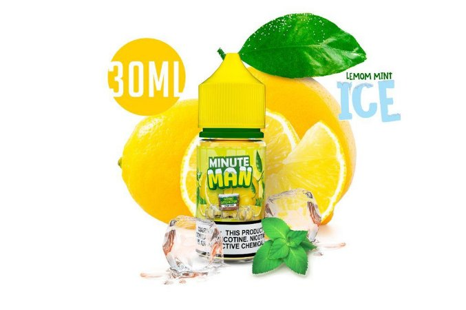 NicSalt MINUTE MAN Lemon Mint Ice 30ML
