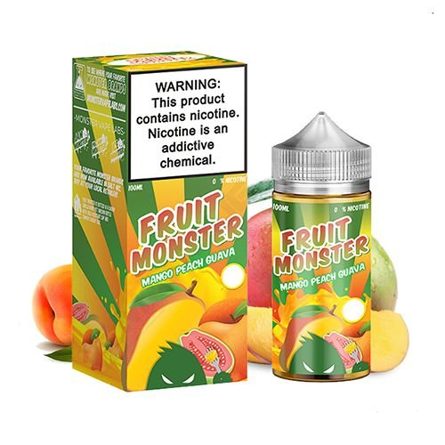 E-Liquido FRUIT MONSTER Mango Peach Guava 100ML