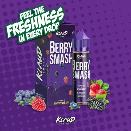 E-Liquido KLAUD JUICE Berry Smash 60ML