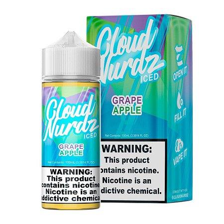 E-Liquido CLOUD NURDZ Grape Apple Iced 100ML