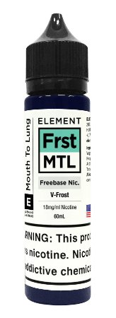 E-Liquido ELEMENT MTL V-Frost 60ML