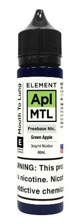 E-Liquido ELEMENT MTL Green Apple 60ML