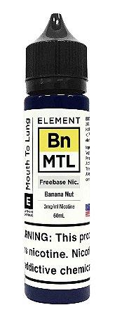 E-Liquido ELEMENT MTL Banana Nut 60ML