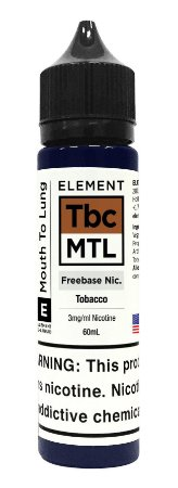 E-Liquido ELEMENT MTL Tobacco 60ML