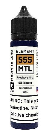 E-Liquido ELEMENT MTL 555 Tobacco 60ML