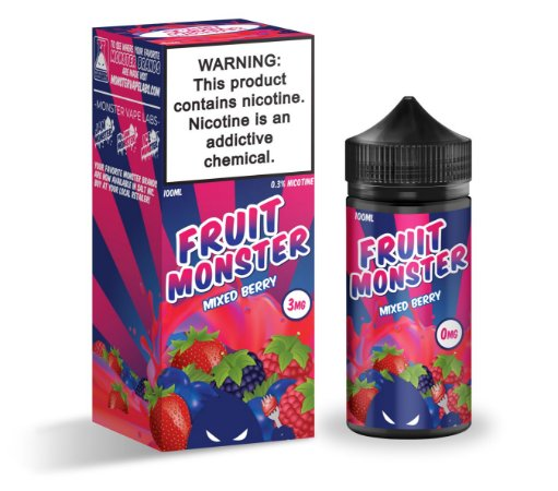 E-Liquido FRUIT MONSTER Mixed Berry 100ML