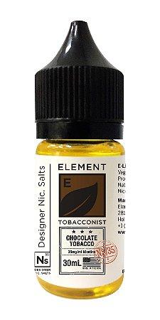 NicSalt ELEMENT TOBACCONIST Chocolate Tobacco 30ML