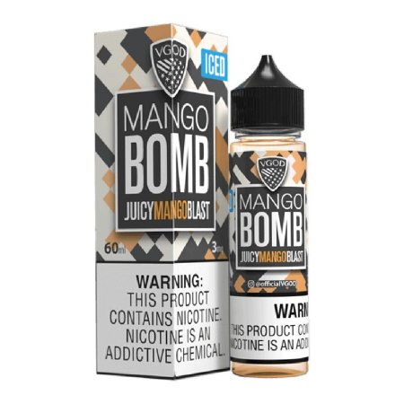E-Liquido VGOD BOMB SERIES Mango ICED 60ML