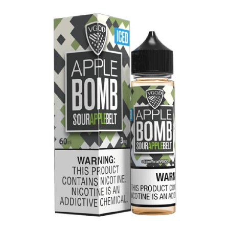 E-Liquido VGOD BOMB SERIES Apple ICED 60ML