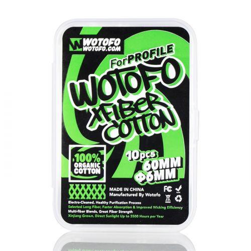 Algodão Wotofo XFIBER Cotton