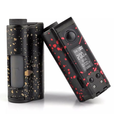 Dovpo X TVC TOPSIDE DUAL 200W Squonk Box Mod - Special Edition (SEM BATERIAS)