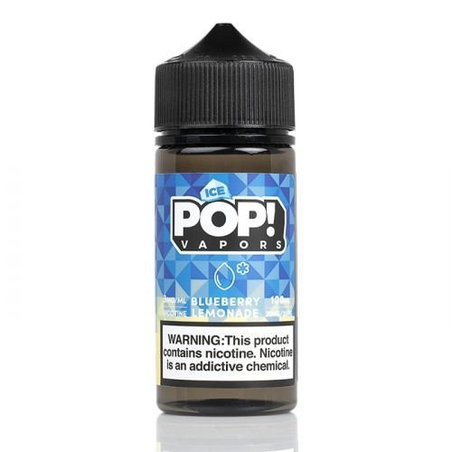 E-Liquido POP! VAPORS Blueberry Lemonade ICE 100ML