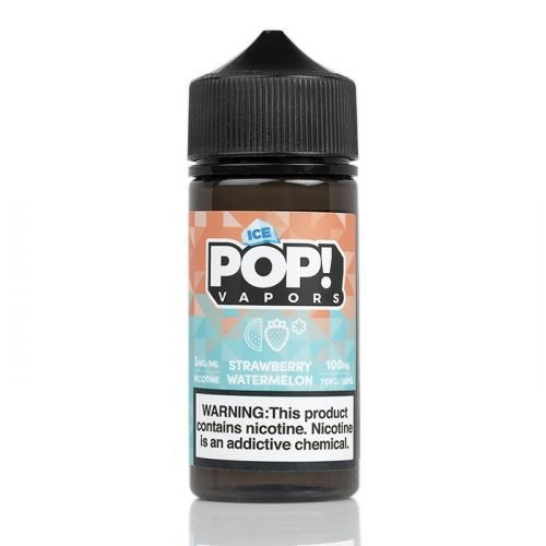 E-Liquido POP! VAPORS Strawberry Watermelon ICE 100ML