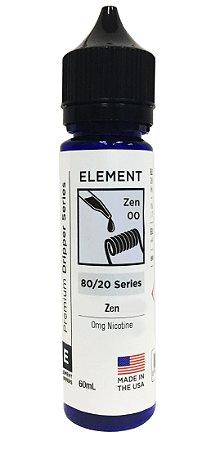 E-Liquido ELEMENT DRIPPER Zen 60ML