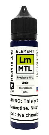 E-Liquido ELEMENT MTL Limón 60ML