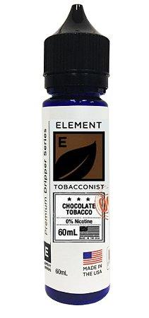 E-Liquido ELEMENT TOBACCONIST Chocolate Tobacco 60ML