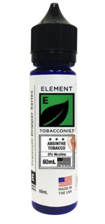 E-Liquido ELEMENT TOBACCONIST Absinthe Tobacco 60ML