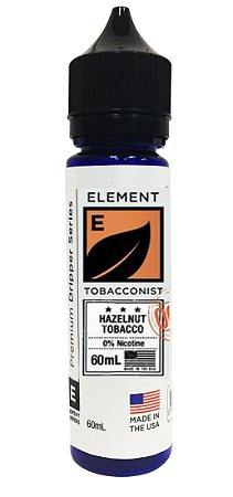 E-Liquido ELEMENT TOBACCONIST Hazelnut Tobacco 60ML