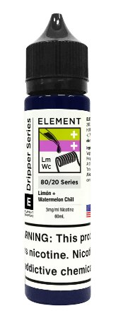 E-Liquido ELEMENT EMULSIONS Limón + Watermelon Chill 60ML