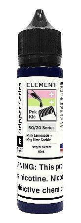 E-Liquido ELEMENT EMULSIONS Pink Lemonade + Key Lime Cookie 60ML