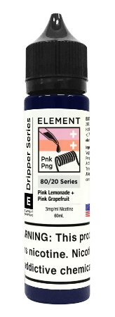 E-Liquido ELEMENT EMULSIONS Pink Lemonade + Pink Grapefruit 60ML