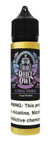 E-Liquido QUIET OWL Chill Vines 60ML