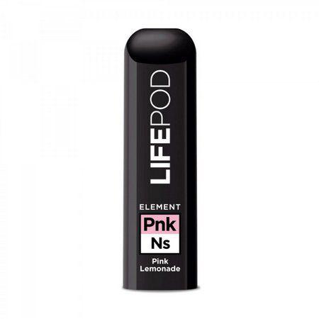 ELEMENT LIFE POD Pink Lemonade (Descartável) - Pack com 1 Unidade