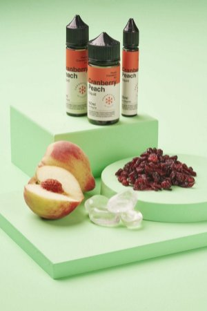E-Liquido DREAM COLLAB Cranberry Peach ICE