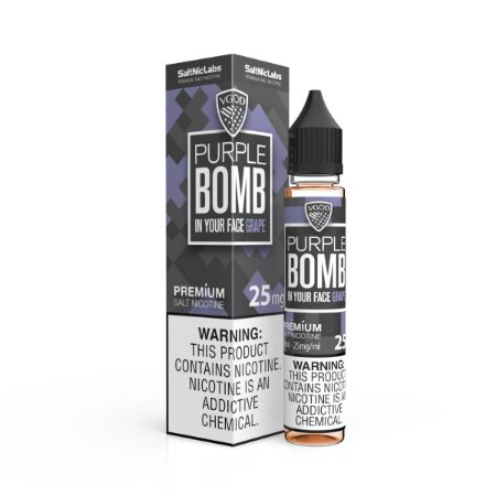 NicSalt VGOD BOMB SERIES Purple 30ML
