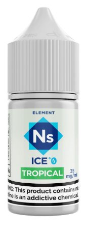 NicSalt ELEMENT SubZero Tropical 30ML