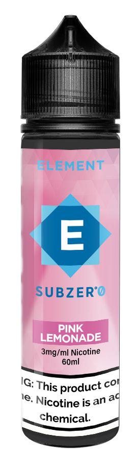 E-Liquido ELEMENT SubZero Pink Lemonade 60ML