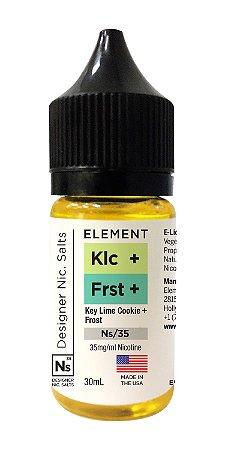 NicSalt ELEMENT EMULSIONS Key Lime Cookie + Frost 30ML
