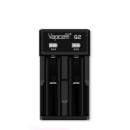 Carregador Baterias VAPCELL Smart Charger Q2 para 2 Baterias