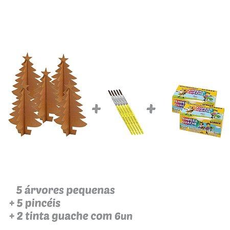 Kit Árvore de Natal Pequena
