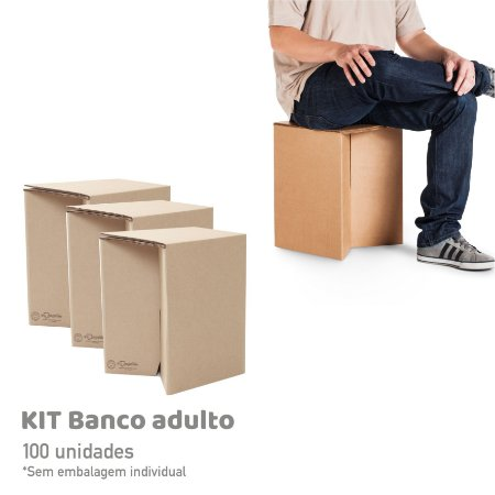 Kit Banco Adulto - 100 unidades