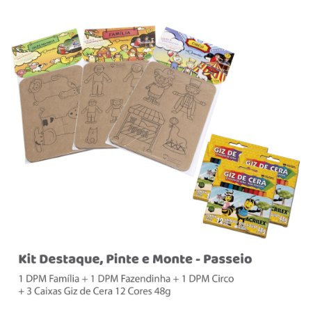 Kit DPM - Passeio