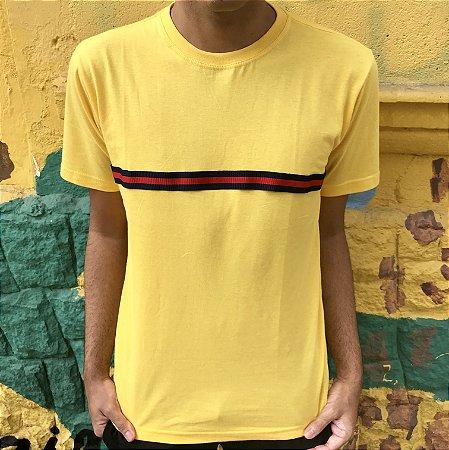 Camiseta Amarela Personalizada