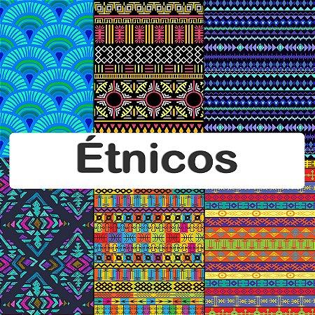 Tecido Impermeável PUL Estampado - Étnicos
