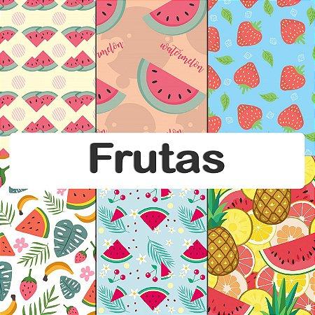 Tecido impermeável PUL Estampado - Frutas