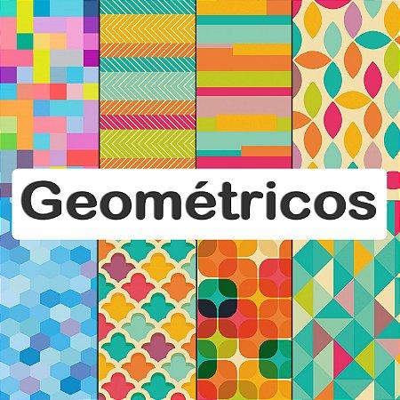 Tecido Impermeável PUL Estampado - Geométricos