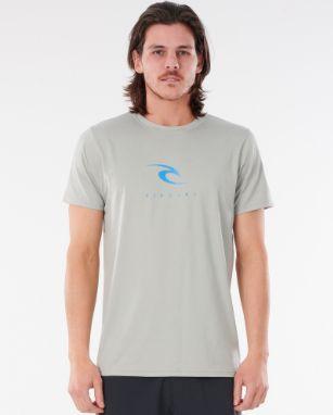 Camiseta De Lycra Rip Curl Icons S/Sl Uv - Light Grey