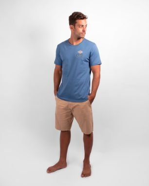 Camiseta Especial Rip Curl Psych - Blue Yonder