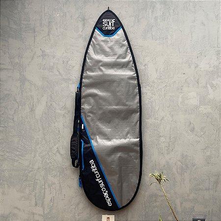 """Capa de Prancha ESC 5'10"""" Shortboard Refletiva"""