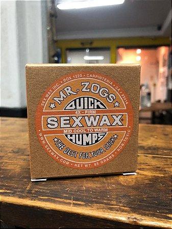 Parafina Sexwax Mid Cool - Laranja