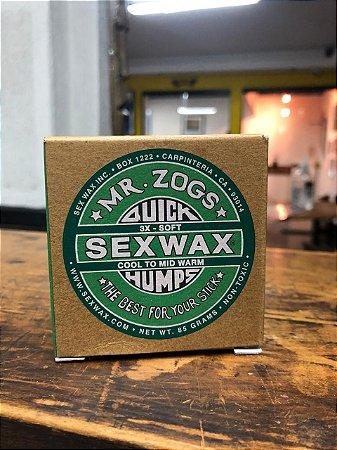 Parafina Sexwax Cool - Verde