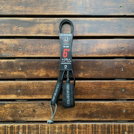 Leash Dakine Andy Irons Comp 6' x 3/16''- Preto